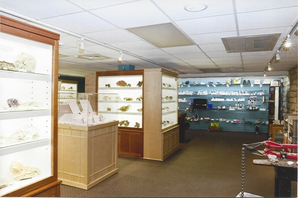 The museum features a wide range of exhibits.